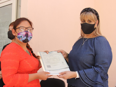 ENTREGAN 40 DE 120 ACTAS DE NACIMIENTO DENTRO DE LA CAMPAÑADE REGISTRO EXTEMPORÁNEO