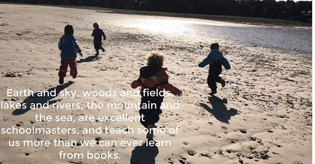 The first of our weekly beach school ses