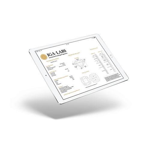 Your online certificate