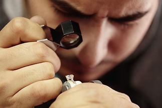 Diamond analysis by cut