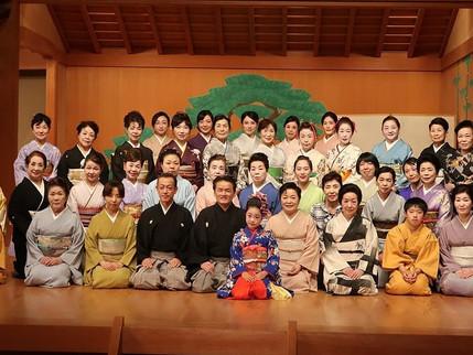 関西日本舞踊公演 無事に終了致しました。