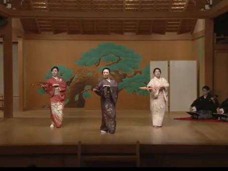 関西日本舞踊連盟 舞踊会 無事に終了致しました。