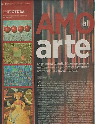 Recoleta Gouda Art Gallery, noticias, amo al arte, claudia haiek, galeria de arte, pintores, escultores, exposiciones