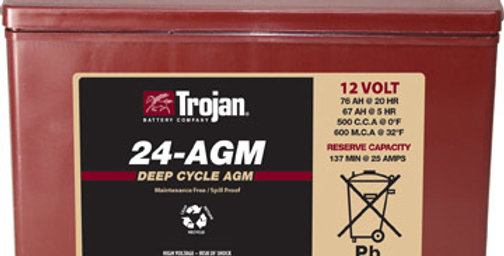Тяговый аккумулятор Trojan 24-AGM