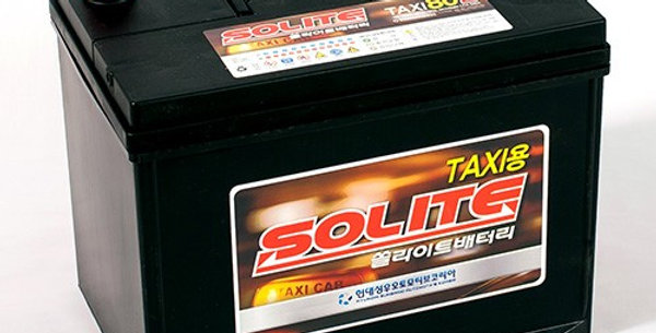 Аккумулятор Solite TAXI 80 L 80Ah 260x168x200мм