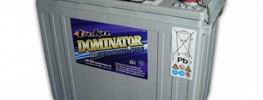 Deka Dominator 8G5SHP 12В 125Ач 345x168x280