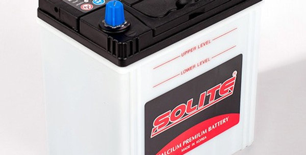 Аккумулятор Solite 44B19L с бортом 44Ah 187x127x199мм