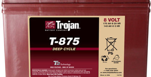 Тяговый аккумулятор Trojan T-875