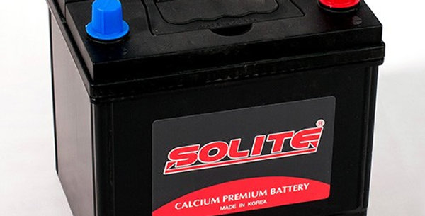 Аккумулятор Solite CMF26R-550 60Ah 206x172x184мм