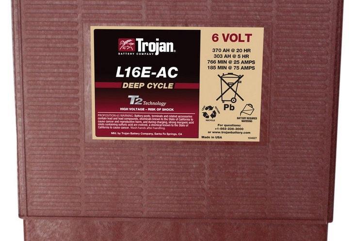 Тяговый аккумулятор Trojan L16E-AC