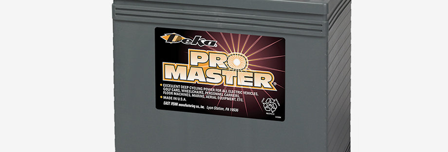 Deka Pro Master GC45 6В 260Ач 260x181x302
