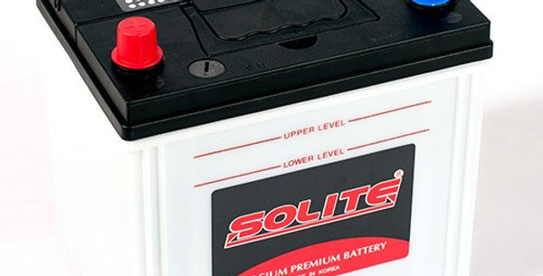Аккумулятор Solite 85D23R 70Ah 230x168x200мм