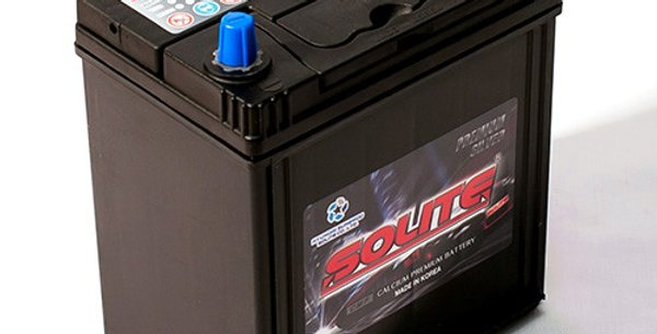 Аккумулятор Solite Silver 55B19L 50Ah 187x127x199мм