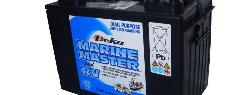 Deka Marine Master and RV DP 27 12В 100Ач 300х171х236