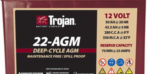 Тяговый аккумулятор Trojan 22-AGM