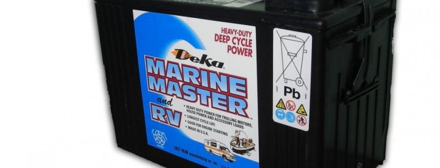 Deka Marine Master and RV DC27 DT 12В 105Ач 300х171х236
