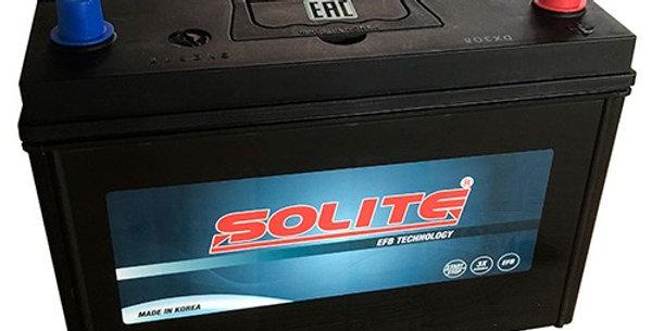 Аккумулятор Solite EFB T 110 90Ah 301x172x200мм
