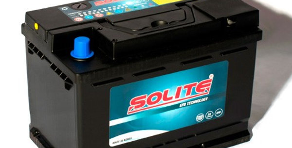 Аккумулятор Solite EFB 70 70Ah 242x174x189мм