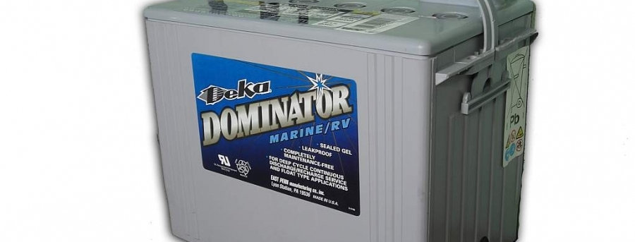 Deka Dominator 8G24M 12В 77Ач 260х171х236