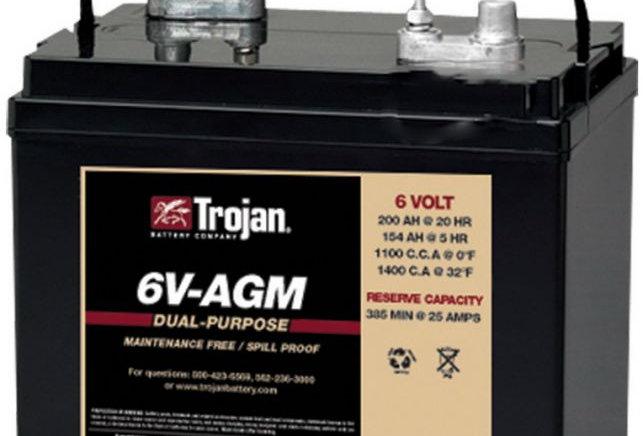 Тяговый аккумулятор Trojan 6V-AGM