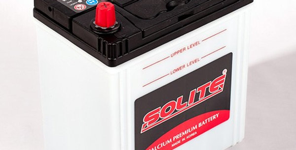 Аккумулятор Solite 44B19R с бортом 44Ah 187x127x199мм