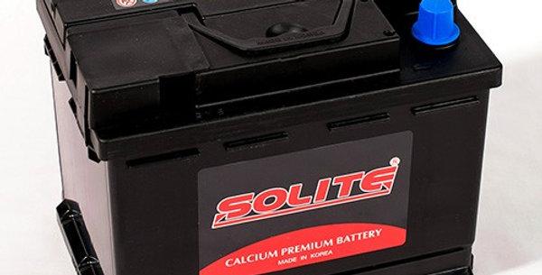 Аккумулятор Solite CMF55565 55Ah 242x174x189мм