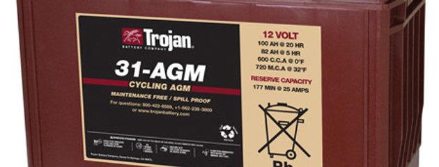 Тяговый аккумулятор Trojan 31-AGM