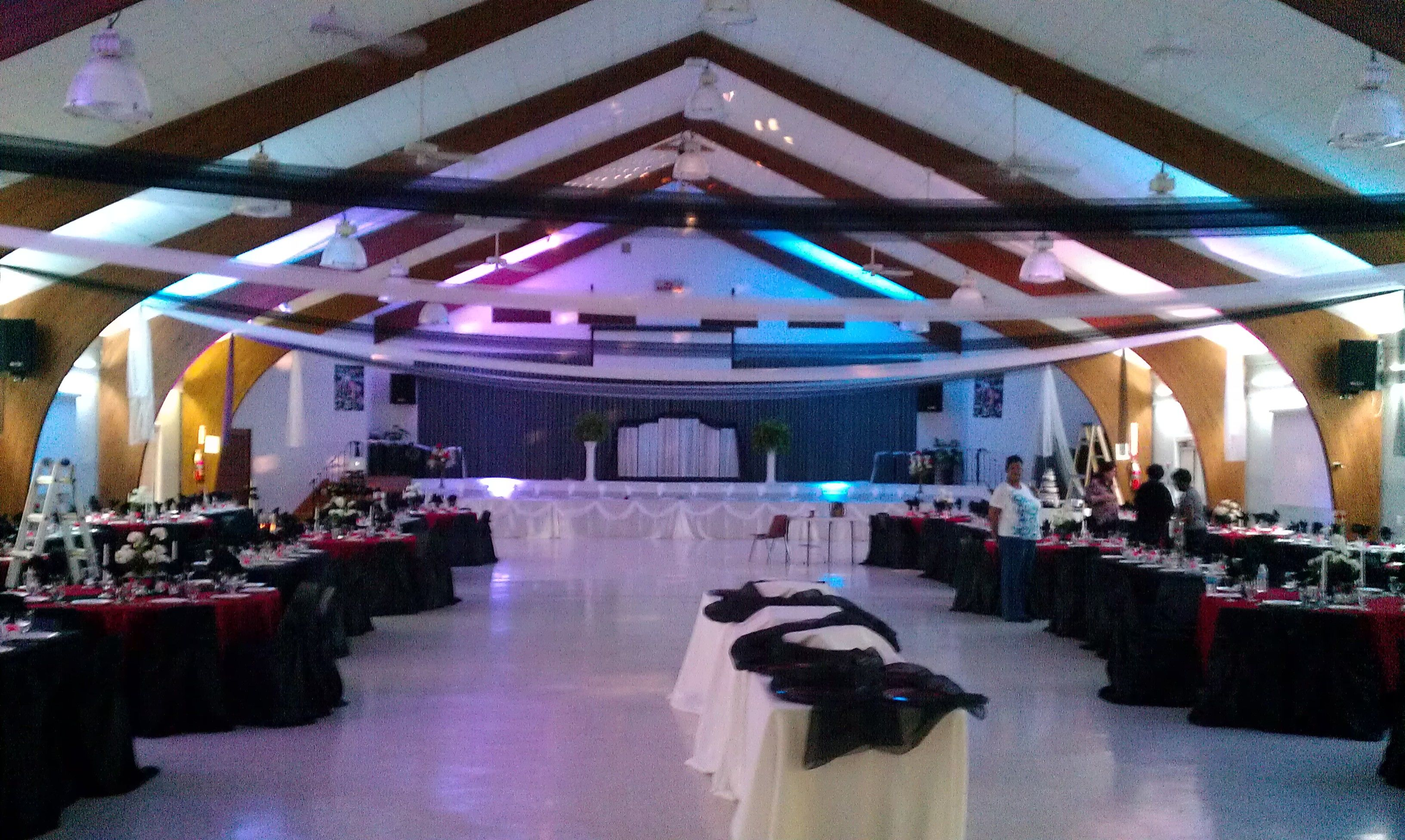 Wedding in hall in NJ