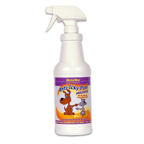 Anti-Icky Poo Unscented Quart Size