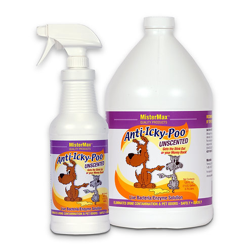 Anti-Icky Poo Unscented Quart/Gallon Size