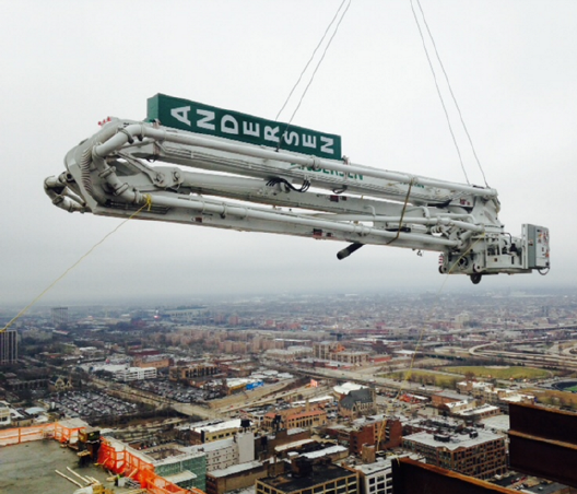 32 Meter Separate Placing Boom