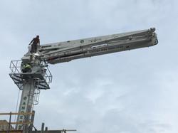 35 Meter Separate Placing Boom
