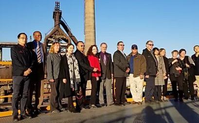 Oregon delegation visit Beijing Shougang Industrial Park