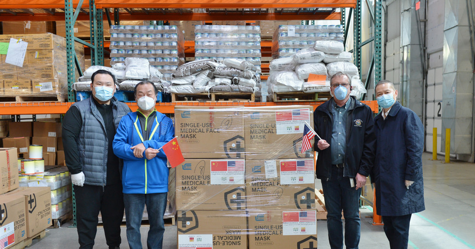 Fujian PPE Donation Arrived at the Oregon State Warehouse