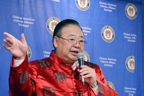 OCC Vice President Stephen Ying speaking