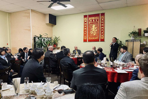 OCC dinner for Consul General Wang Donghua, Oregon legislators, OCC Board members and OCC friends