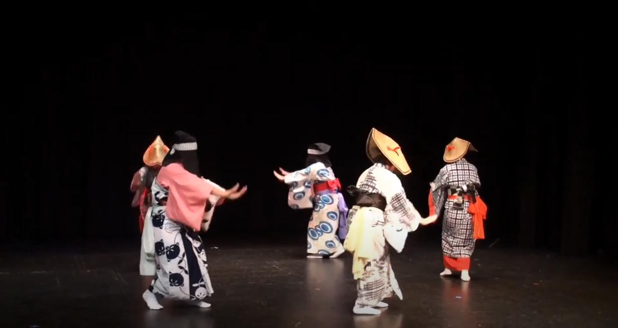 """Sahomi Tachibana Dancers """"Nishimonai"""" (JAPAN))"""