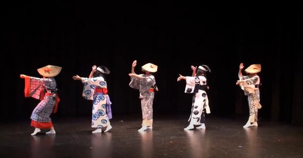 """Sahomi Tachibana Dancers """"Nishimonai"""""""