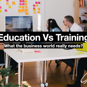Business Training, or Business Education?