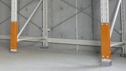 危険物重量ラック柱ガード