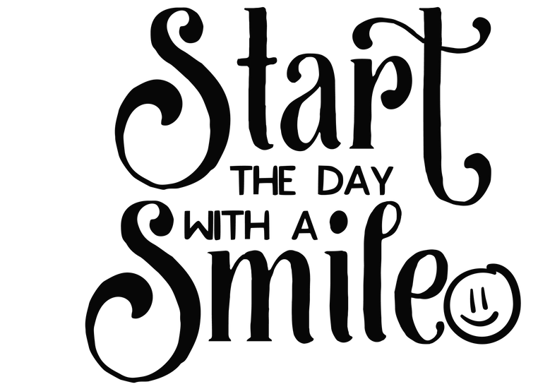 Start the day with a smile