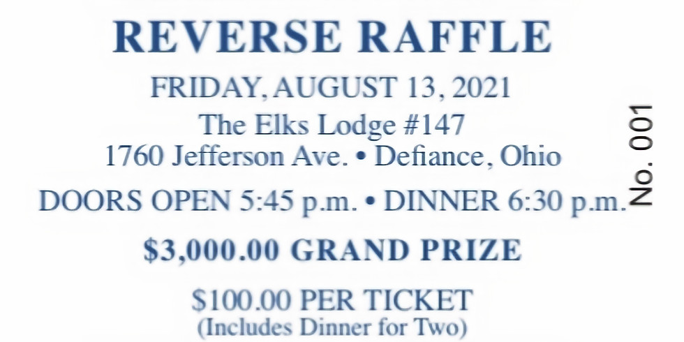 Defiance Athletic Boosters Reverse Raffle 2021