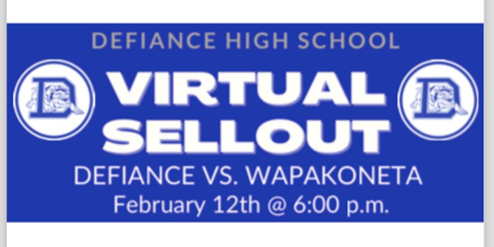 Defiance High School Virtual Sellout