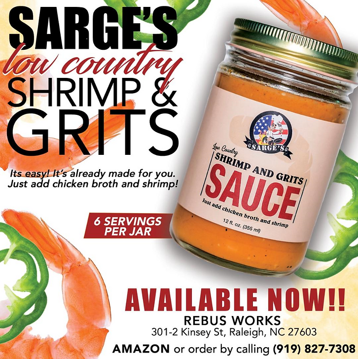 Southern Grits | Sarge's Shrimp and Grits Sauce | Chicken Broth | Shrimp and Grits | Southern Shrimps