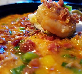 Southern Grits | Sarge's Shrimp and Grits Sauce | Chicken Broth | Shrimp and Grits | Southern Shrimps | Healthy Diet