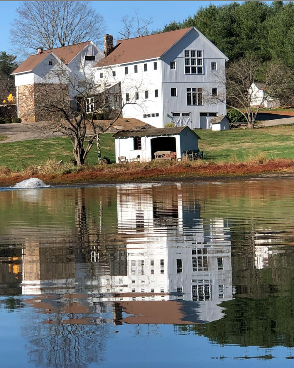 WBF Pond Reflection