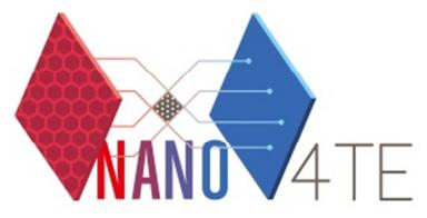 NANO4TE Cluster 2nd Workshop
