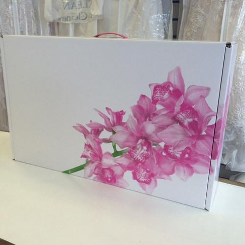 Wedding dress boxes