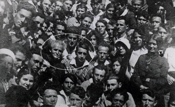 פנחס לבון ודוד בן גוריון 1932