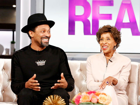 THE REAL: Marla Gibbs and Mike Epps are here to talk about their new movie Love Jacked, what it was like working together, and more!